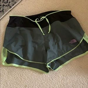North Face outdoor shorts.  Women's SM